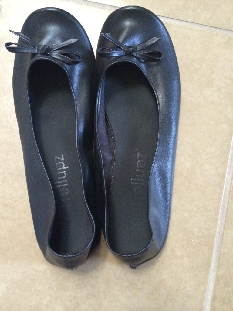 Black Ballet Flat - Cindy Starfalls Collection-5890